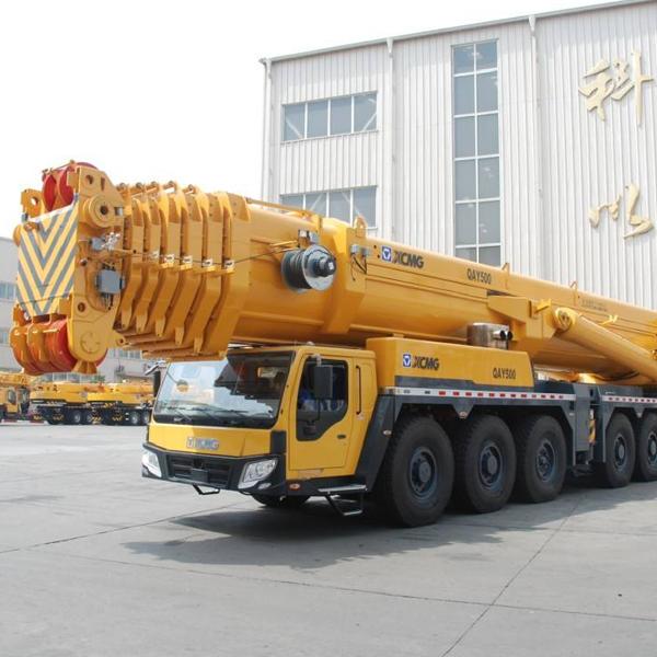 阜宁500吨吊车租赁